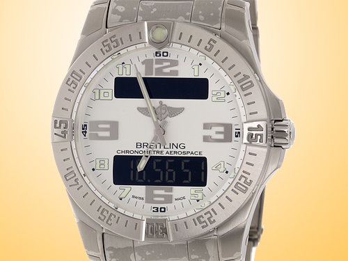 Breitling Aerospace EVO Multifunctional Titanium Men's Watch E793637V/G817-152E