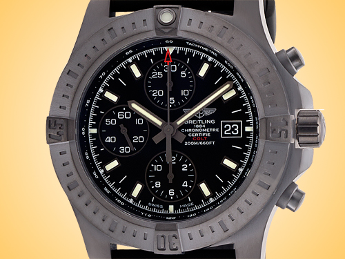 Breitling Colt Chronograph Men's Automatic Black Stainless Steel Watch M1338810/BF01-152S