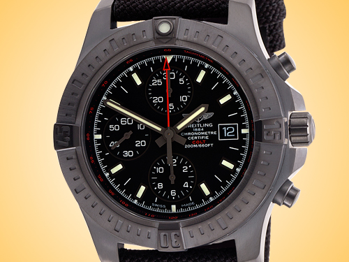 Breitling Colt Chronograph Men's Automatic Black Stainless Steel Watch M133881A/BE99-112W