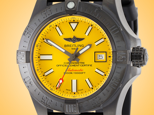 Breitling Avenger II Seawolf Blacksteel Automatic Men's Watch M17331E2/I530-153S