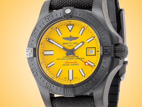 Breitling Avenger II Seawolf Blacksteel Automatic Men's Watch M17331E2/I530-DP3-DEPL