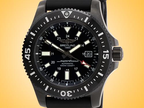 Breitling Superocean 44 Special Automatic Blacksteel Men's Watch M1739313/BE92-227S