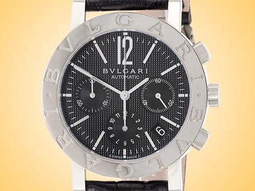 Bvlgari BVLGARI BVLGARI Collection Men's Automatic Stainless Steel Chronograph Watch BB38BSLDCH/N