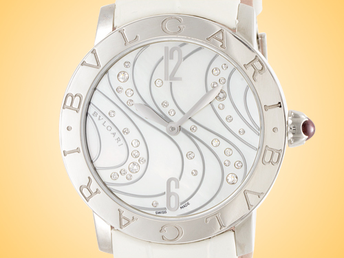 Bvlgari BVLGARI BVLGARI Collection Ladies Automatic Stainless Steel Watch BBL37WCDSL