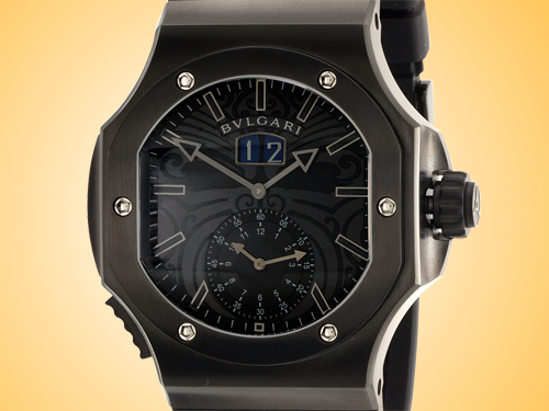 "Bvlgari Endurer Collection Chronospirit ""All Blacks"" Special Edition Men's Automatic Stainless Steel Watch BRE56BSBVDCHS/AB"