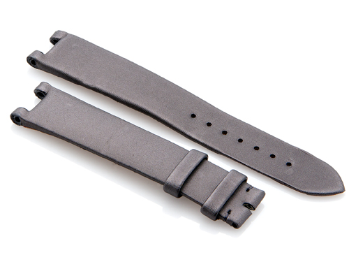 Cartier Grey-Colored Satin Finish Strap 115 x 85 mm