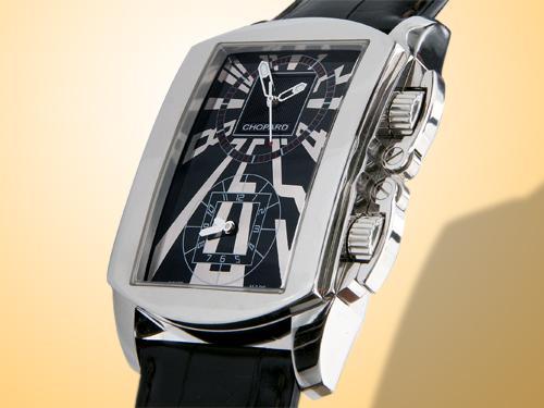 Chopard Classic Dual Tec Black Dial Automatic Men's Watch
