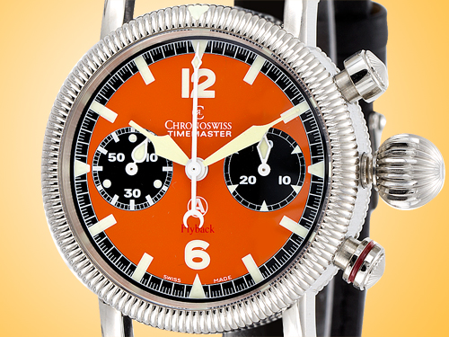 Chronoswiss Timemaster Flyback Chronograph Stainless Steel Men's Watch CH 7633 OR-2