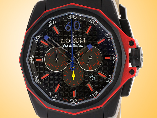 Corum Admiral's Cup AC-One 45 Americas Colombia Automatic Mechanical Chronograph Men's Watch 132-211-95-0F01-ANCO