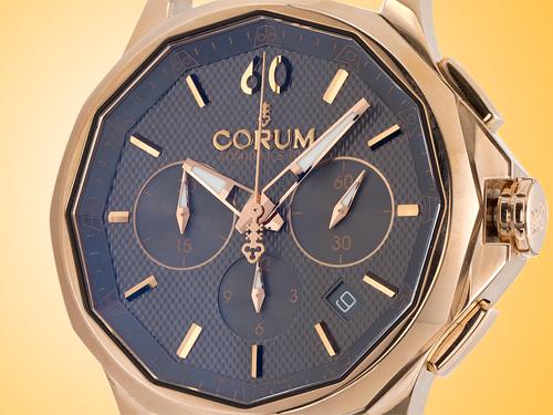 Corum Admiral�s Cup Legend 42 18K Rose Gold Men�s Automatic Chronograph Watch 984-101-55-0001-AK12
