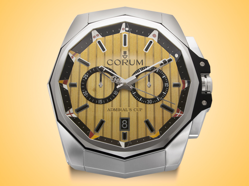 Corum Admiral's Cup Series Showroom Display Wall Clock