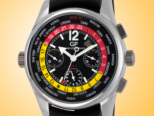 "Girard Perregaux WW.TC World Time Chrono ""Berlin"" Limited Edition Men's Watch 49800-22-654-BA6A"