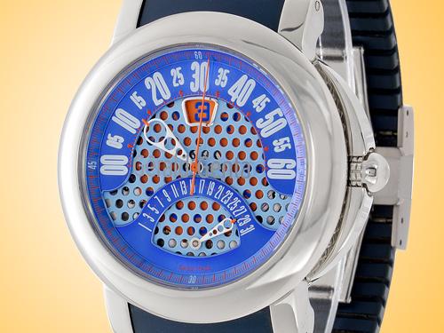 Gerald Genta Arena BiRetro Sport Automatic Stainless Steel Watch BSP-Y-10-128-RB-BD