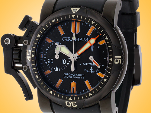 Graham Chronofighter Oversize Diver Deep Seal Automatic Men's Watch 20VEZ.B02B.K10B