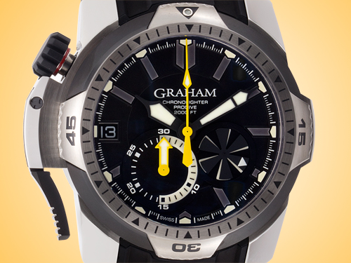 Graham Chronofighter Oversize GMT Men's Automatic Stainless Steel Chronograph Watch 2OVGS.U06B.K41S (CLONE)