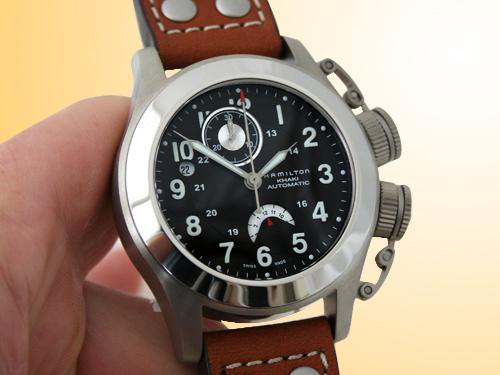 Hamilton Navy Frogman Chronograph Titanium Men's Watch H77716533