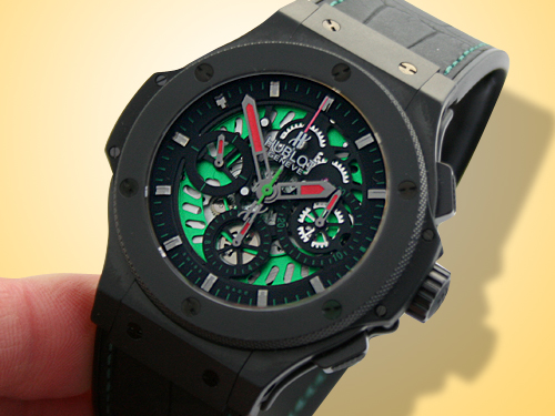 Big Bang Mexican Soccer (Futbol) Federation Ceramic Chronograph watch