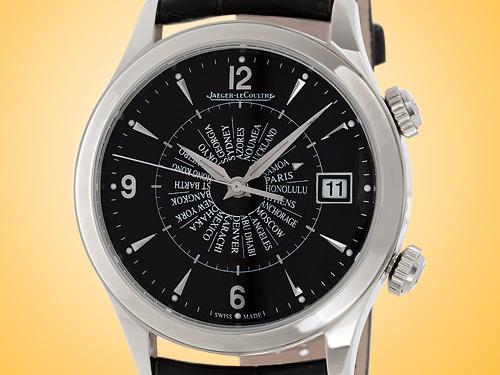 Jaeger-LeCoultre Master Memovox International Worldtimer Alarm Men's Watch Q1418471