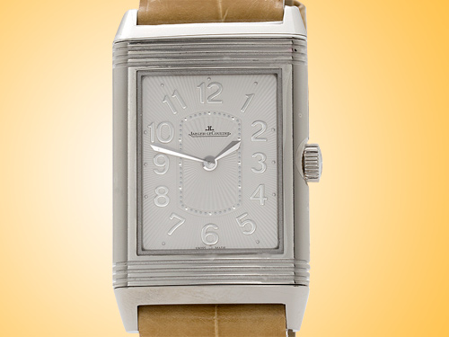 Jaeger LeCoultre Grande Reverso Lady Ultra Thin Quartz Stainless Steel Watch Q3208420