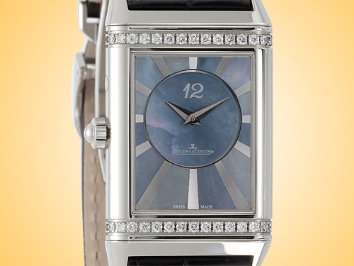 Jaeger LeCoultre Grande Reverso Lady Ultra Thin Duetto Duo Ladies Watch Q3308421