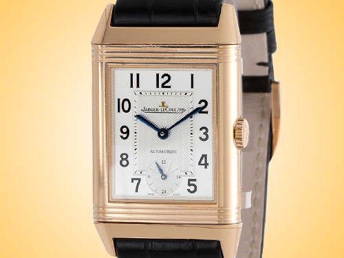 Jaeger-LeCoultre Grande Reverso Ultra Thin Automatic 18K Rose Gold Men's Watch Q3802520