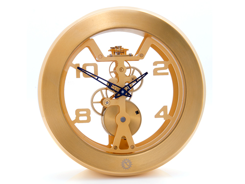 "Matthew Norman ""Wind"" Exclusive 8 Days Manual Wind Carriage Clock Model: 50.3648/001"