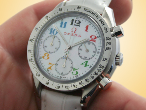 Omega Speedmaster Olympic Collection Timeless Automatic Ladies Watch