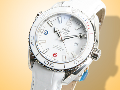 Omega Olympic Collection - Seamaster Planet Ocean 600 M Ladies Watch