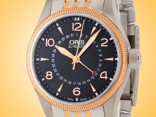 Oris Big Crown Pointer Date Men's Automatic Two-tone Stainless Steel Watch 754 7679 4364MB