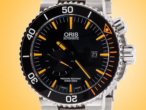 Oris Carlos Coste IV Limited Edition Men's Automatic Titanium Watch 01 743 7709 7184MB