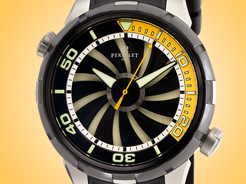 Perrelet Turbine Diver Automatic Stainless Steel Men's Watch A1067/2