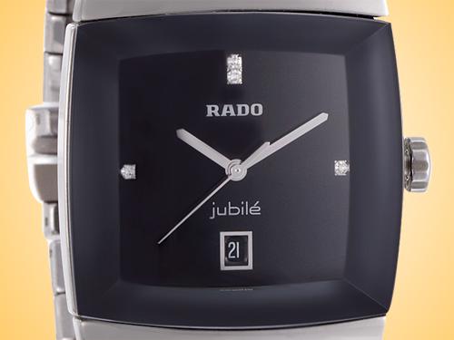 Rado Sintra Jubilé Black Dial Ceramic Men's Watch R13778702