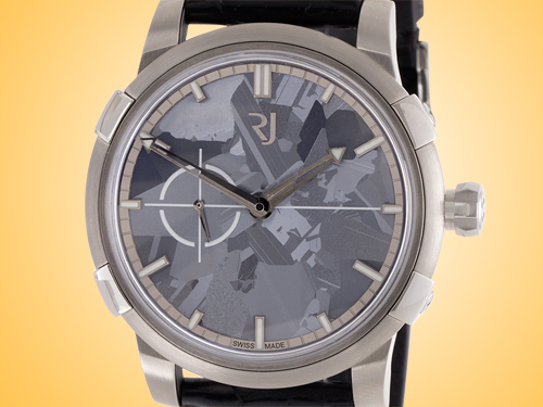 Romain Jerome 1969 Heavy Metal Grey Silicium Men's Automatic Stainless Steel Watch RJ.M.AU.020.05