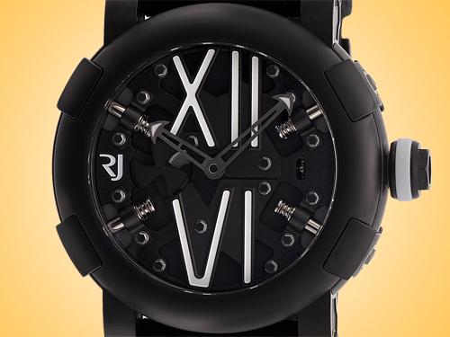 Romain Jerome Steampunk Men's Automatic Black PVD Stainless Steel Watch RJ.T.AU.SP.005.01