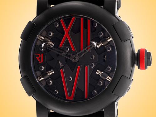 Romain Jerome Steampunk Automatic Black PVD Stainless Steel Men's Watch RJ.T.AU.SP.005.04