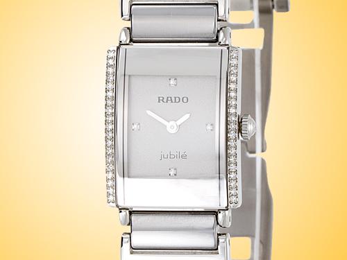 Rado Integral Ceramic / Diamonds Women�s Quartz Watch R20430722