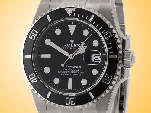 Rolex Oyster Perpetual Submariner Date Stainless Steel Men's Watch 116610LN