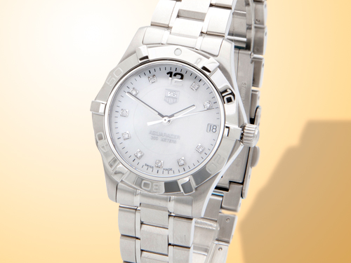 TAG Heuer Aquaracer Stainless Steel Ladies Watch WAF1312.BA0817