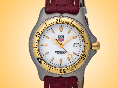 TAG Heuer Sport Elegance Stainless Steel and Yellow Gold Quartz Watch WI1350