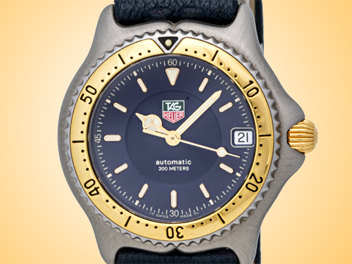 TAG Heuer Sport Elegance Stainless Steel and Yellow Gold Automatic Ladies Watch WI2251
