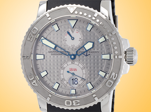 Ulysse Nardin Maxi Marine Diver Chronometer Men's Automatic Watch 263-33-3/91