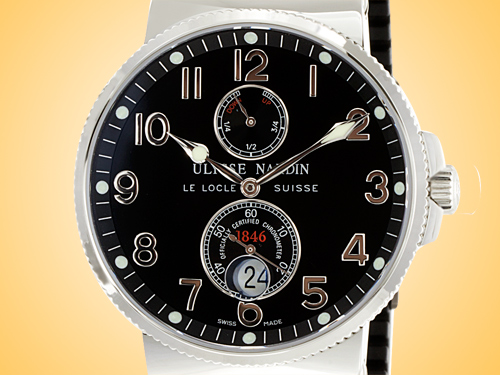 Ulysse Nardin Maxi Marine Automatic Chronometer Men's Watch 263-66-3/62
