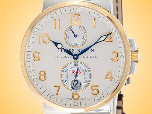 Ulysse Nardin Maxi Marine Automatic Chronometer Men's Watch 265-66/60