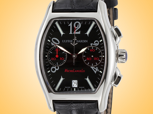 Ulysse Nardin Michelangelo Automatic Chronograph Stainless Steel Men's Watch 563-62/52