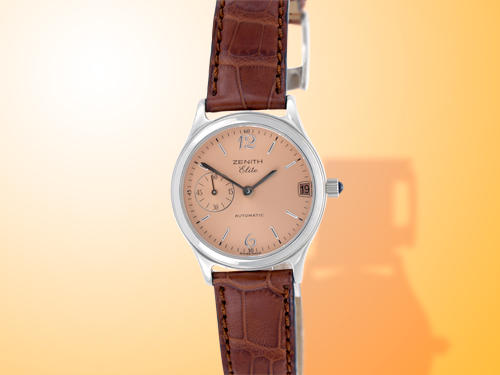 ZENITH Elite Ladies Automatic Stainless Steel Watch 17-01-0050-680-71