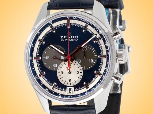 ZENITH El Primero 36'000 VpH Automatic Stainless Steel Men's Watch 03.2040.400/53.C700