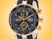 EDOX Grand Ocean Automatic Chronograph Stainless Steel Men's Watch Model: 01123 357RCA NBUR