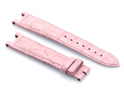 Cartier Pink-Colored Genuine Matte Finish Alligator Strap 100 x 70 mm