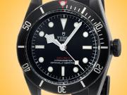 Tudor Heritage Black Bay Dark Automatic Black DLC-coated Stainless Steel Men's Watch M79230DK-0004