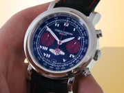 Cuervo Y Sobrinos Torpedo Automatic Chronograph Tour de España Watch 3022-1N